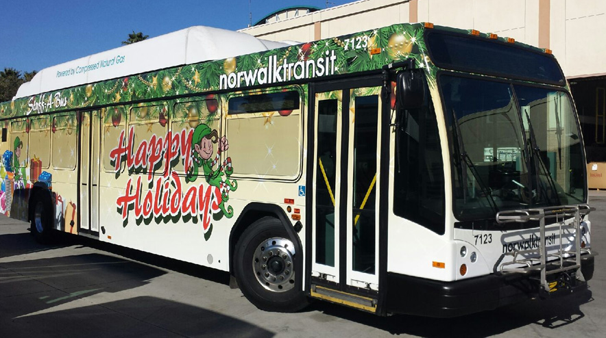 Norwalktransit bus wraps