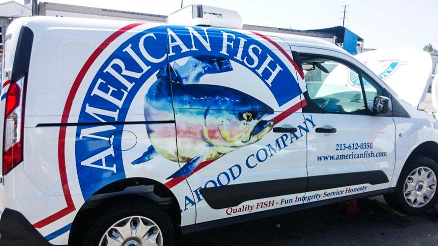 Americanfish Transit Wrap pass