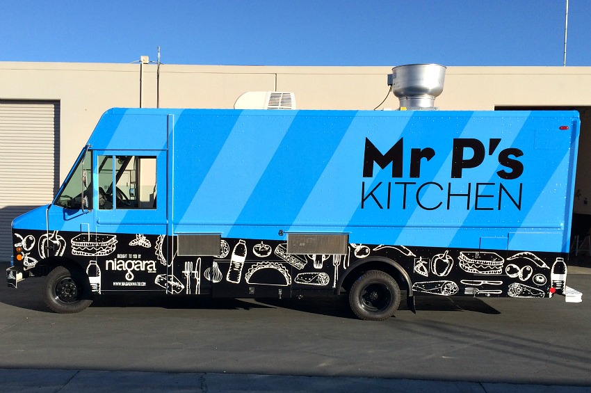 Mr Ps Kitchen Food Truck Wrap Full Sail Graphics