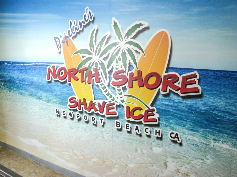 North Shore Shavelce Banner