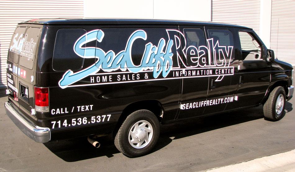 Sea Cliff vehicle wraps