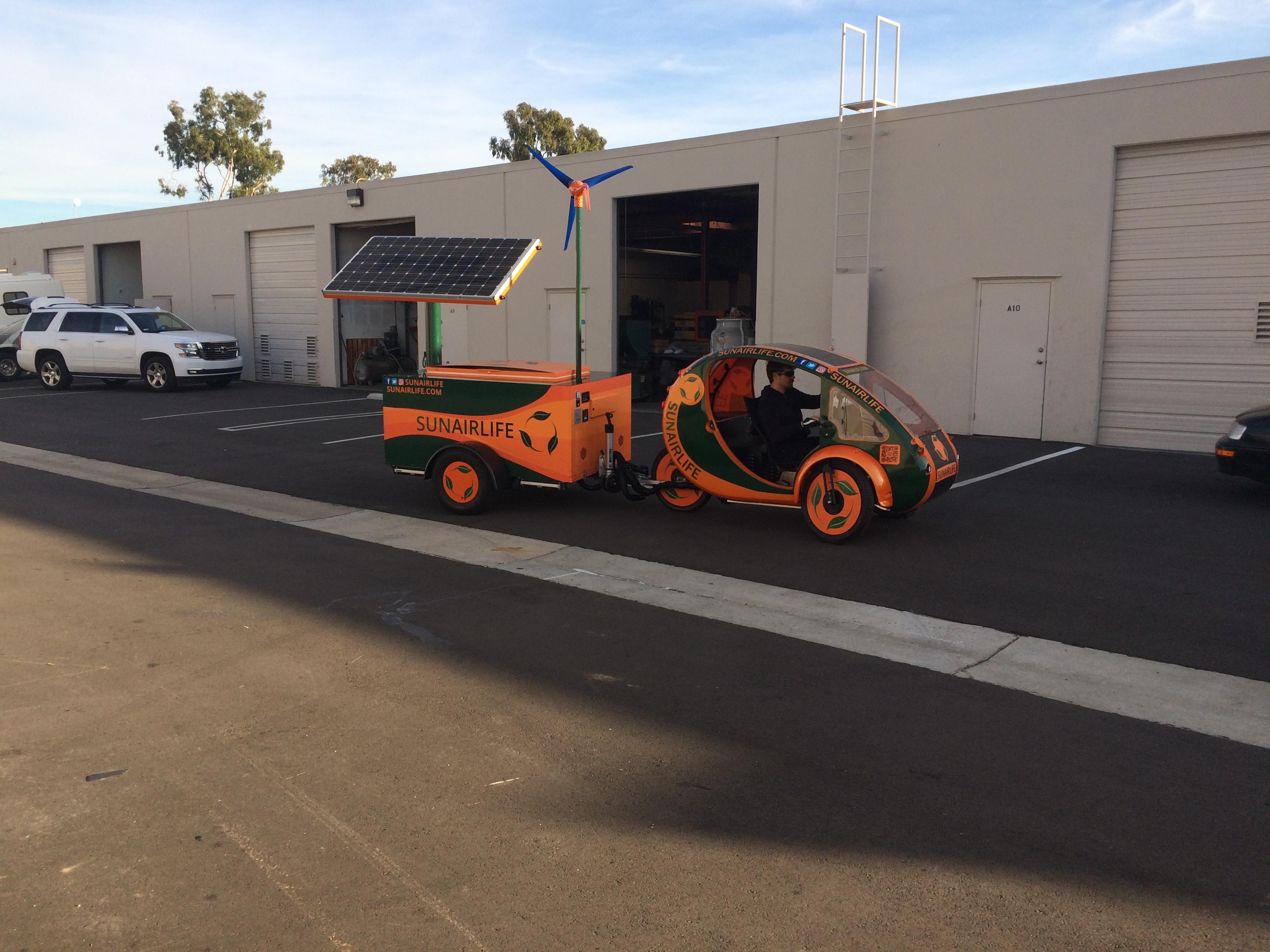 Vehicle warping