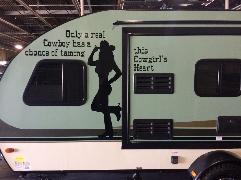 Country Trailer Stickers