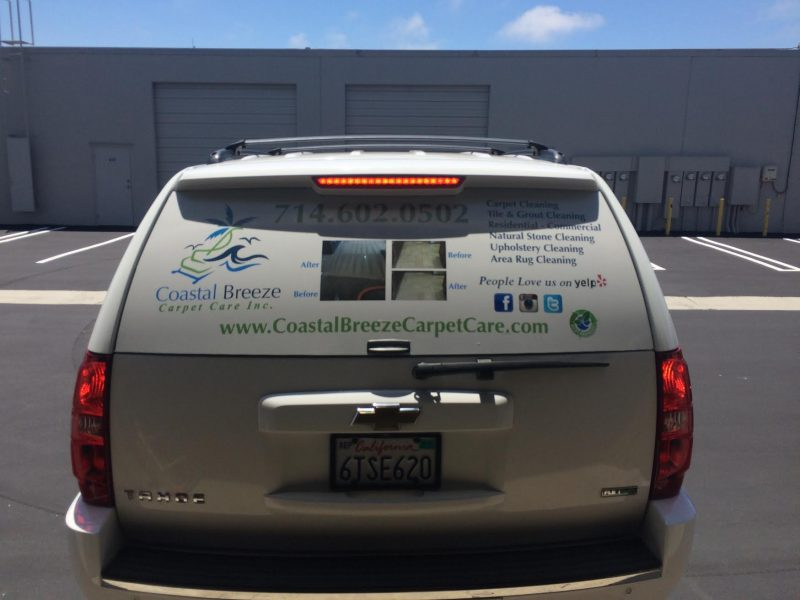 Pastal Breeze vehicle wraps