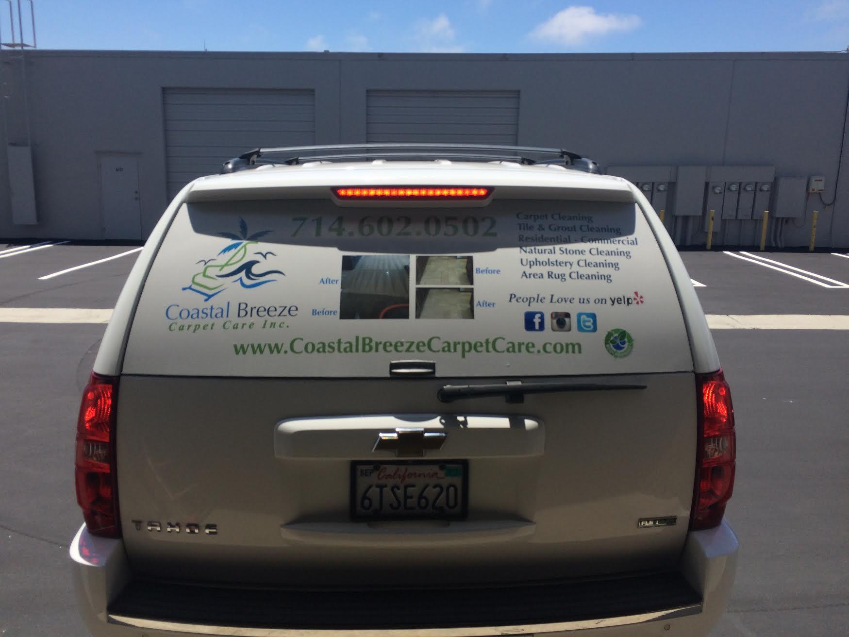 Pastal Breeze vehicle wraps