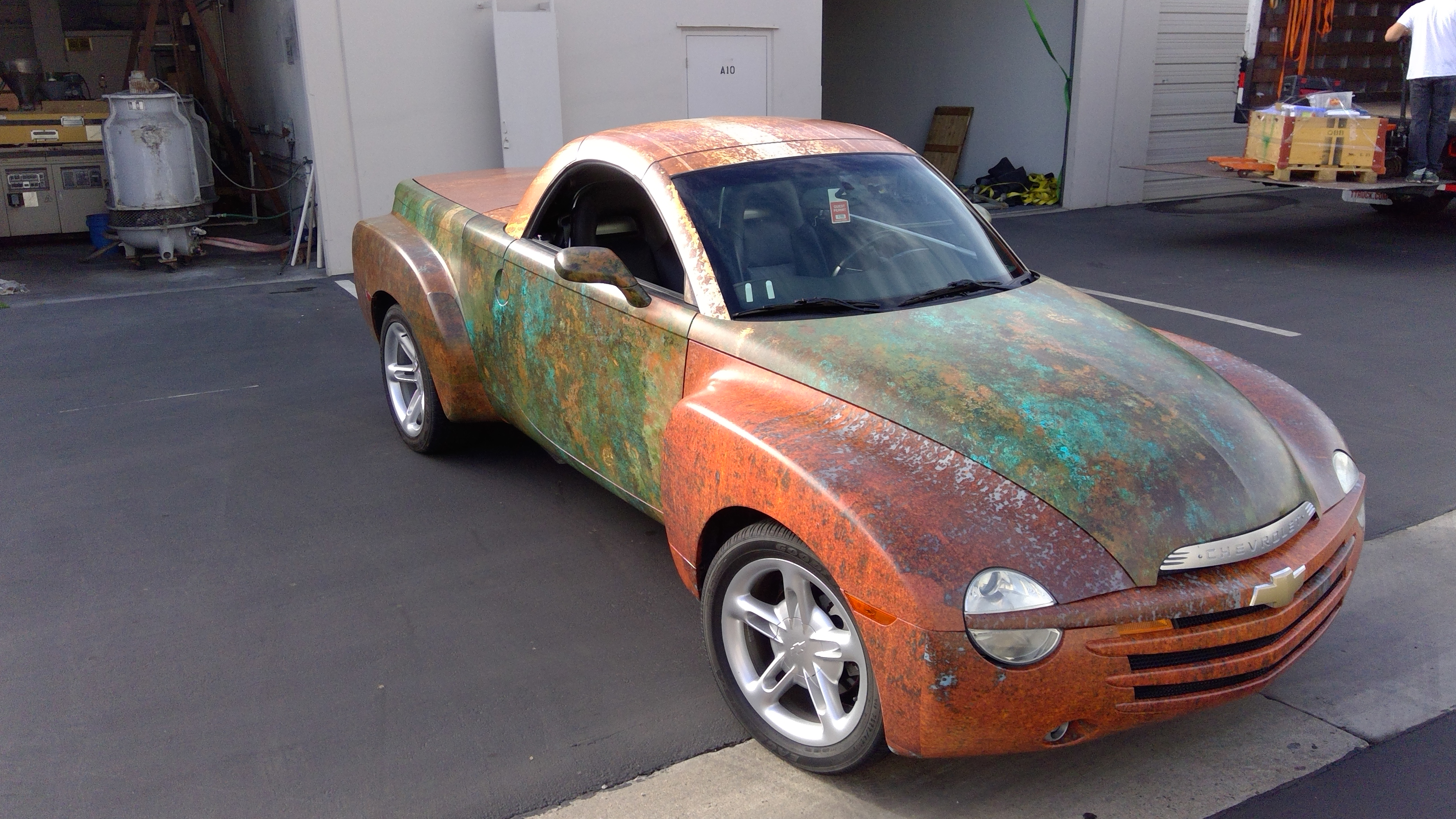 Rusted Chevy Wraps