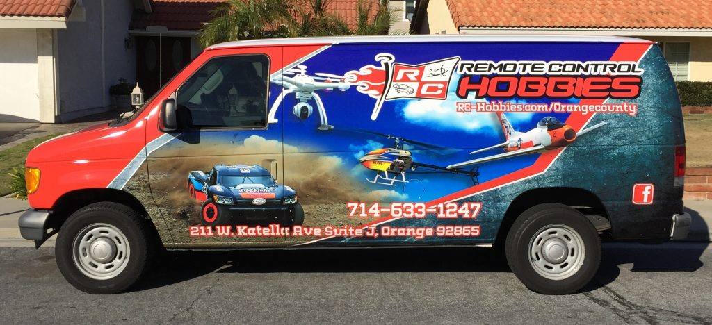 Rc Hobbies Van Wrap
