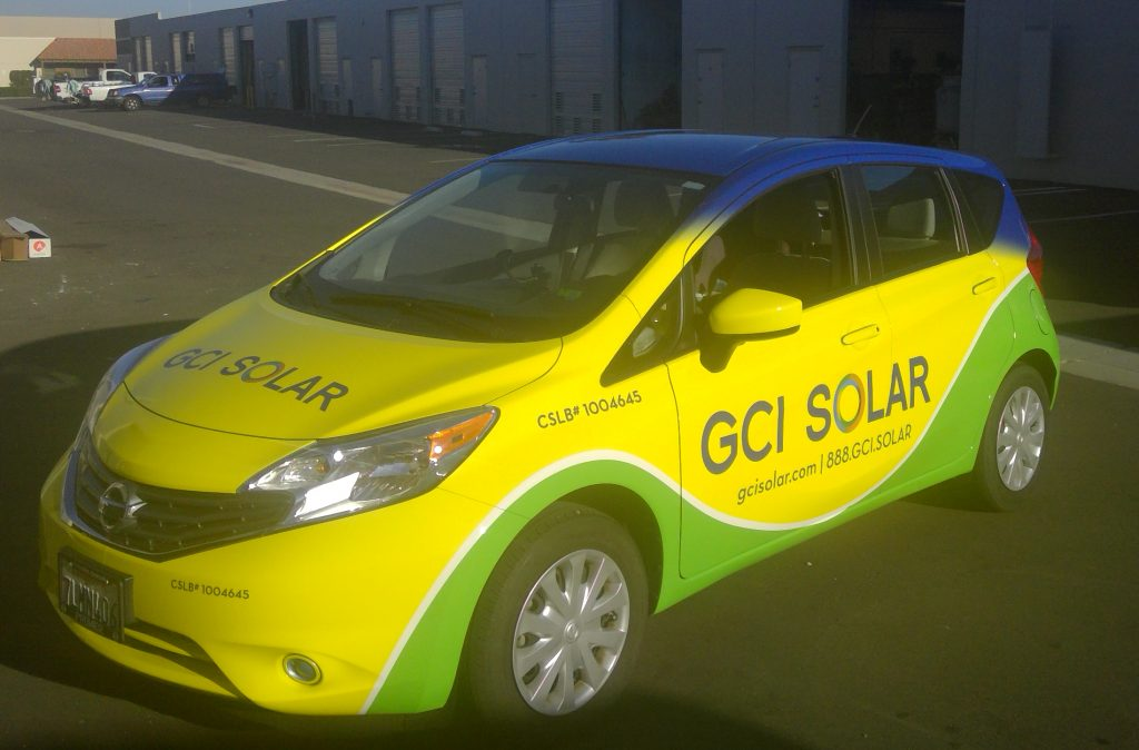 GCI Solar Vehicle graphics
