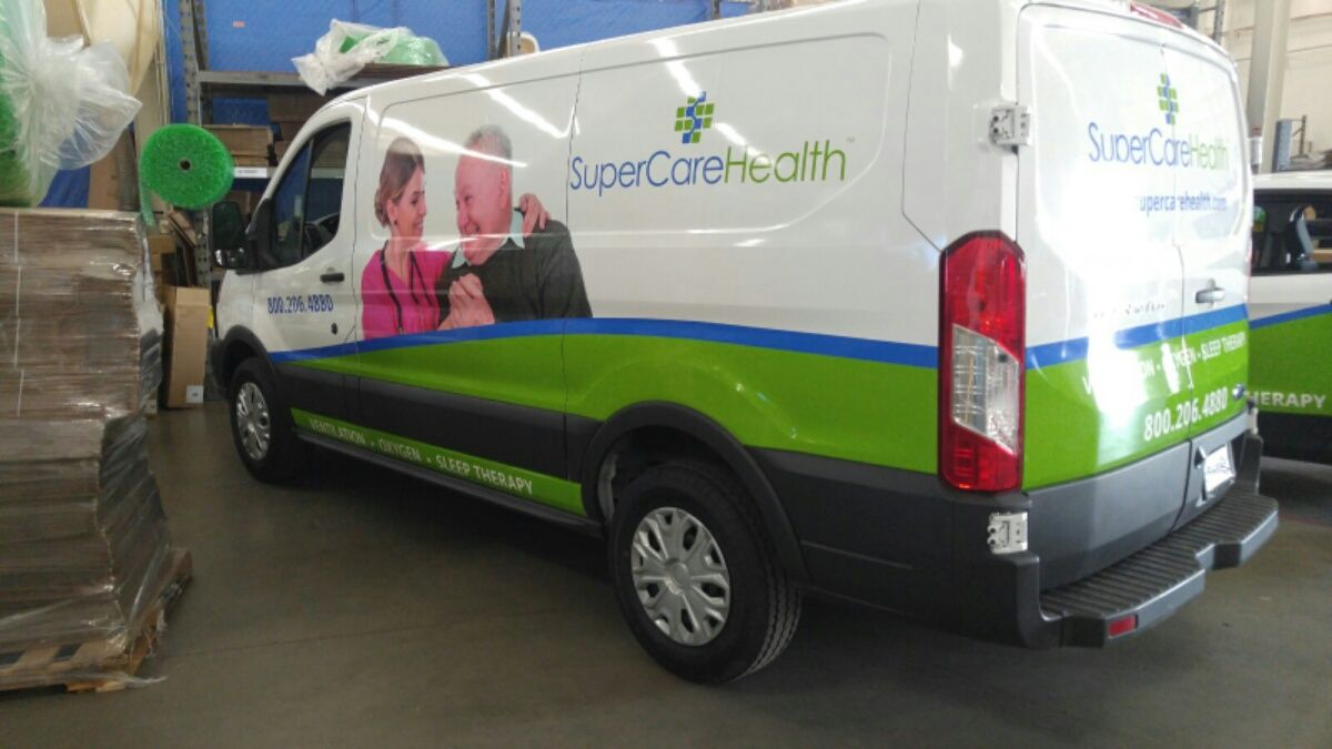 Supercare Health Fleet Wraps