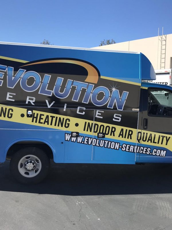 Evolution Services Van