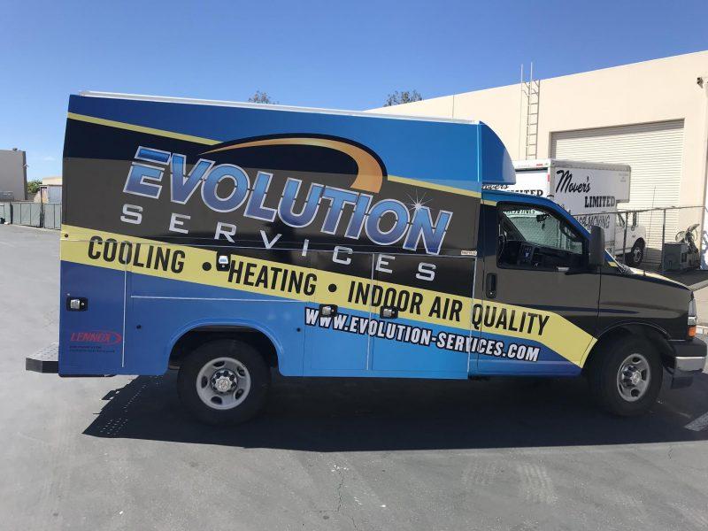 Evolution Services Van