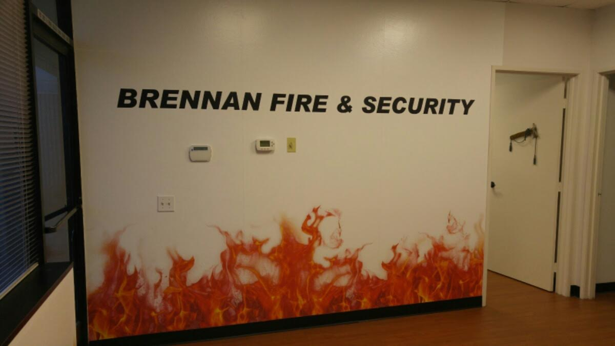Fire Securit Wall Graphics