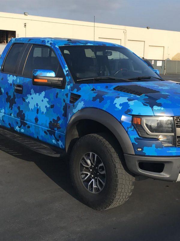 Ford Raptor Car Wraps