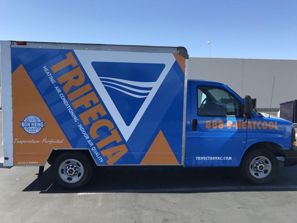 Trifecta Truck Wrap