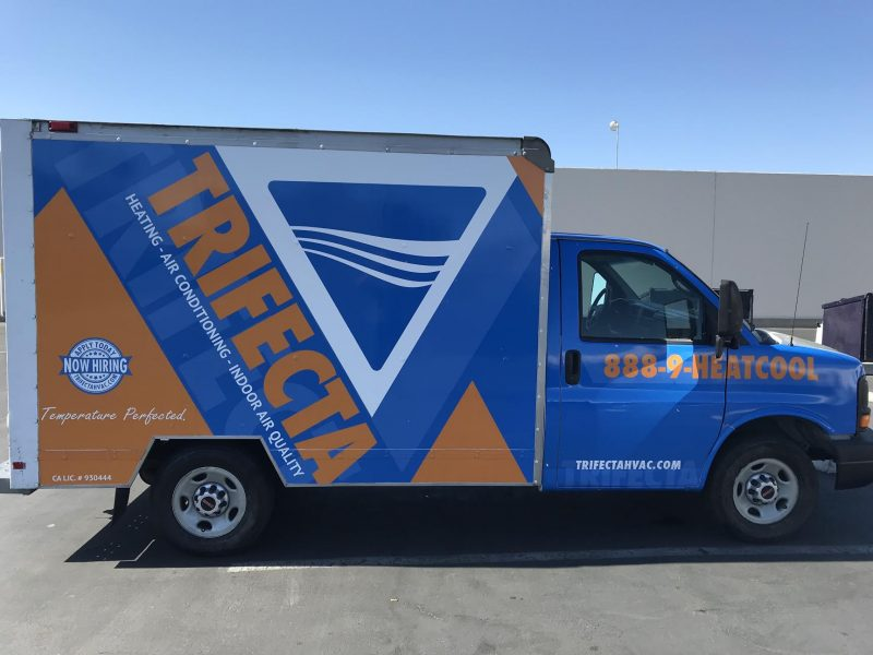 Trifecta Truck Wrap