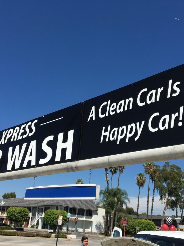 Car Washing Store Banner