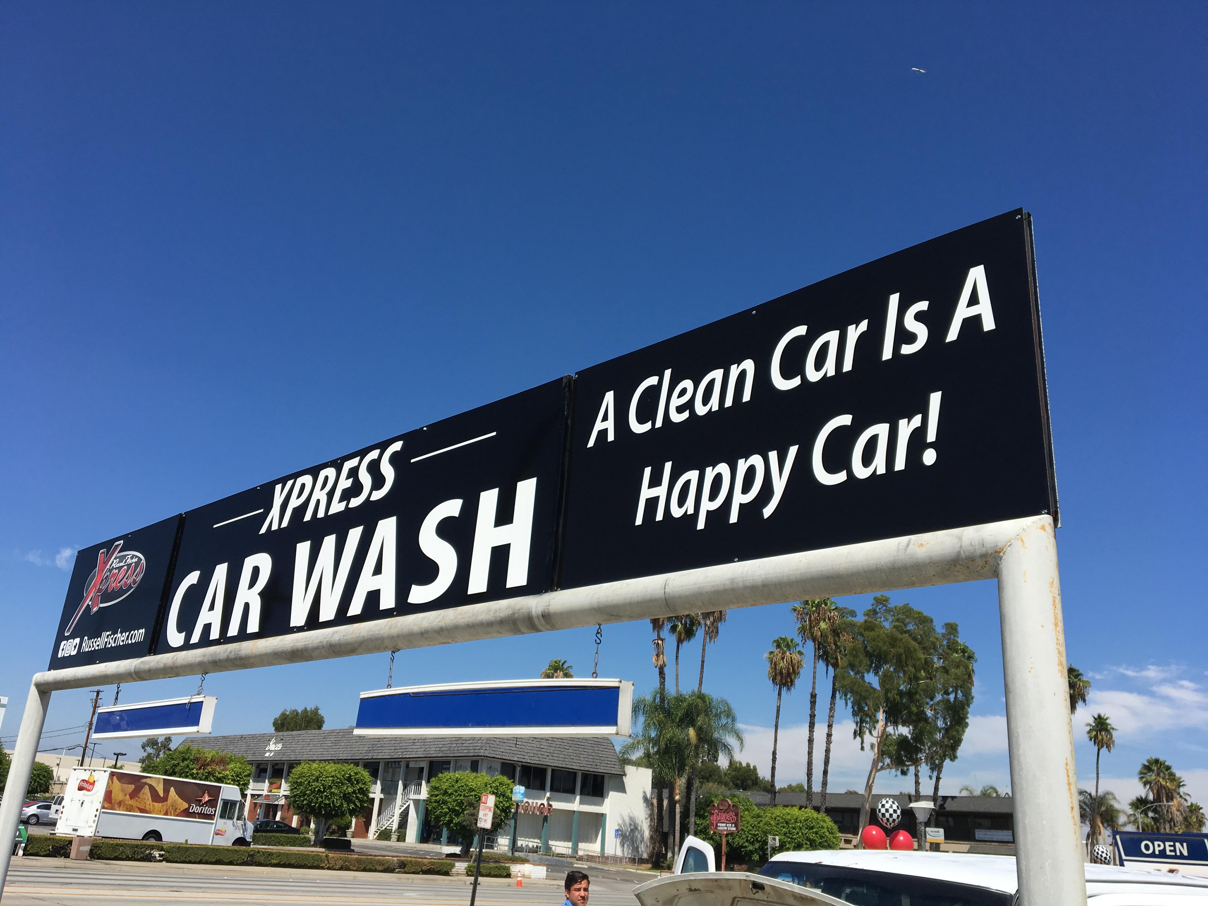 Car Washing Store Banner